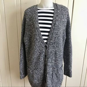 Autumn Cashmere Cardigan- M black multi ,Nordys